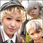 Thời trang - Tròn mắt ngắm tóc lạ của giới trẻ Nhật