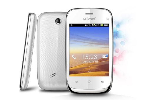 Ra mắt 3 model điện thoại thông minh Q-Smart - 1