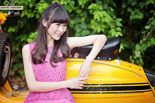 10 cô gái đẹp nhất Thành Vinh - 3
