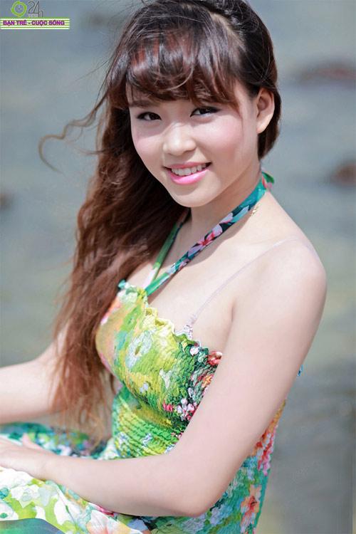 10 cô gái đẹp nhất Thành Vinh - 17