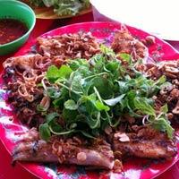 Thơm ngọt cá đuối nướng Đồng Dương
