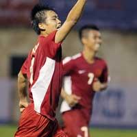 U21 VN - U21 Singapore: Tưng bừng