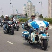 Đoàn môtô khủng dạo phố Sài Gòn
