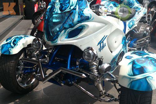 Đoàn môtô khủng dạo phố Sài Gòn - 12