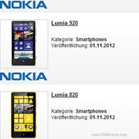 Báo giá Nokia Lumia 920 và 820