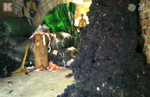 Làng chăn xịn chuyển sang làm chăn… rác - 3