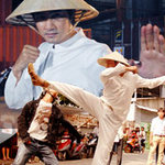 Nguyễn Phi Hùng đội nón lá đánh võ