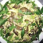 Ẩm thực - Vị đồng quê với gỏi cá rô trộn xoài xanh