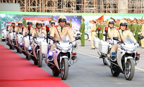 Lễ khai giảng hoành tráng của HV Cảnh sát - 11