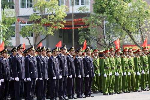 Lễ khai giảng hoành tráng của HV Cảnh sát - 10