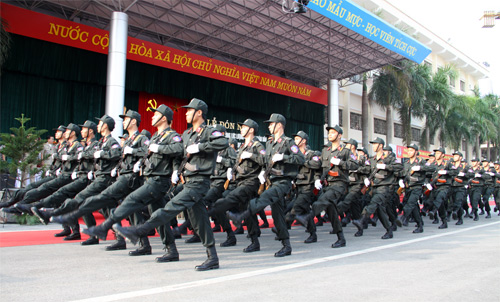 Lễ khai giảng hoành tráng của HV Cảnh sát - 15