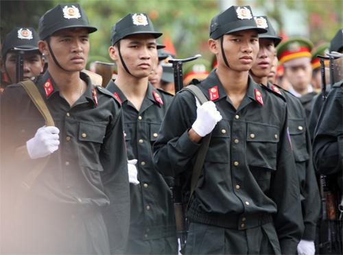 Lễ khai giảng hoành tráng của HV Cảnh sát - 8