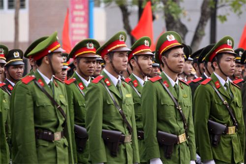 Lễ khai giảng hoành tráng của HV Cảnh sát - 9