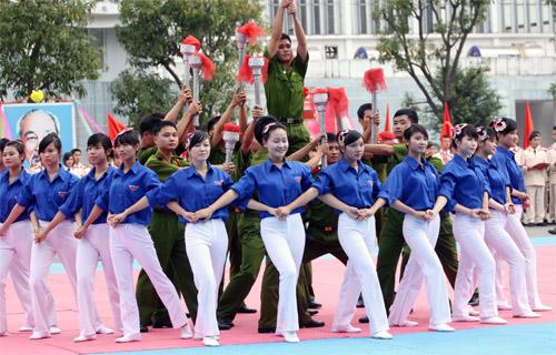 Lễ khai giảng hoành tráng của HV Cảnh sát - 4