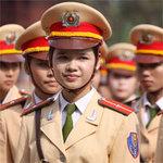 Bạn trẻ - Cuộc sống - Những bóng hồng xinh đẹp của HV Cảnh sát