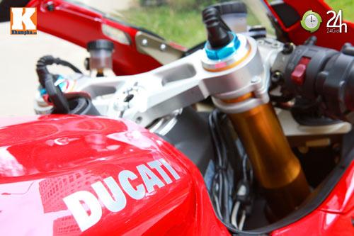 Cận cảnh siêu môtô Ducati Panigale S đầu tiên tại Hà Nội - 15