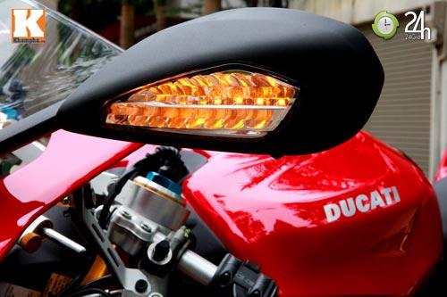 Cận cảnh siêu môtô Ducati Panigale S đầu tiên tại Hà Nội - 4