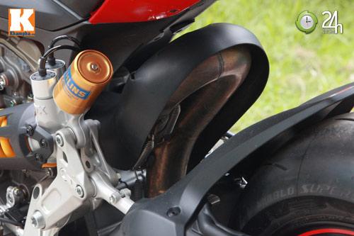Cận cảnh siêu môtô Ducati Panigale S đầu tiên tại Hà Nội - 12