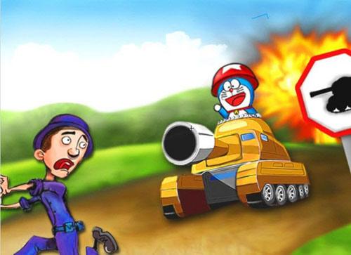 Game hay: Doremon và cuộc chiến xe tăng - 2