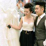 Ngôi sao điện ảnh - Quang Hà đưa bạn gái đi chọn váy cưới
