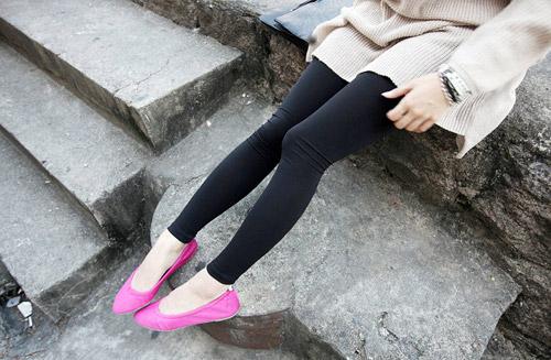 Trở lại với legging và giày bệt - 5