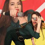 Ca nhạc - MTV - Hà Hồ quyến rũ khoe đường cong