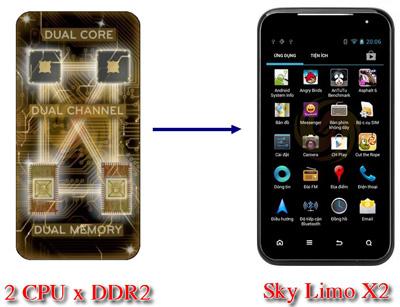 Sky Limo X2 cấu hình khủng giá siêu rẻ - 12