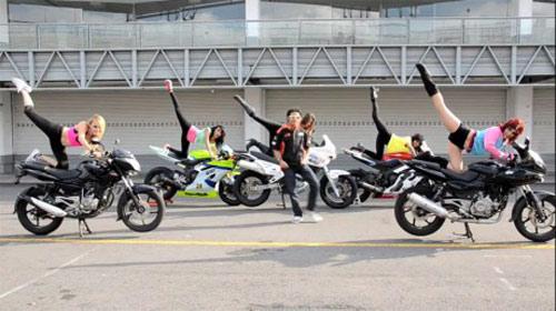 Biker cũng nhảy Gangnam Style - 1