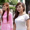Hoa khôi Hà Nội sôi nổi nhảy flash mob