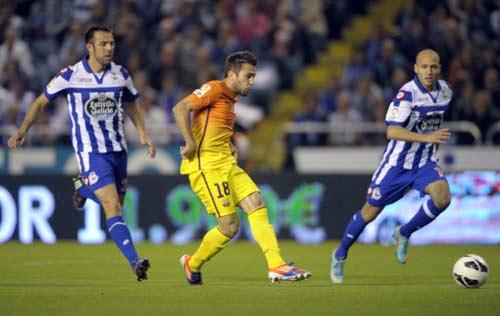 Deportivo - Barca: Messi rực sáng - 1