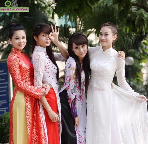 Những gương mặt khả ái của Hoa khôi HN - 14