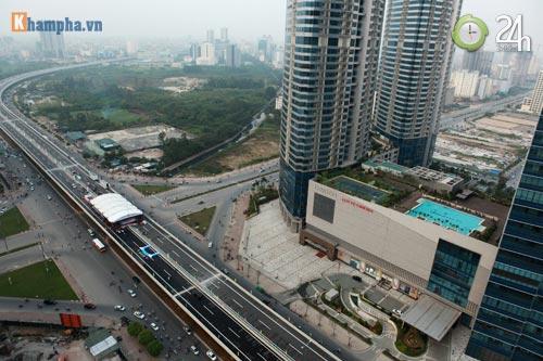 Lạ mắt ngắm đường trên cao của Thủ đô - 9