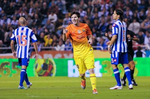Messi vượt Pele: Hãy tính bằng ngày - 1