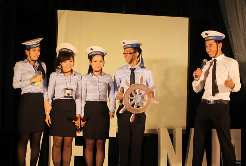 Đại biểu tàu Thanh niên ĐNA chuẩn bị lên đường - 1