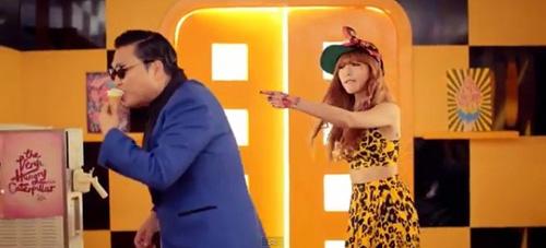Hotgirl Gangnam Style tung MV nóng - 4