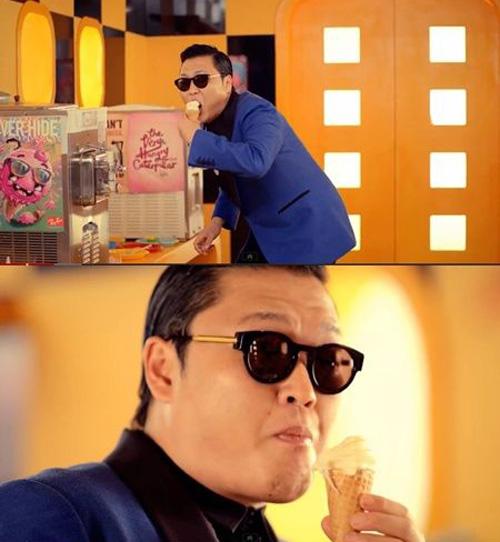 Hotgirl Gangnam Style tung MV nóng - 3