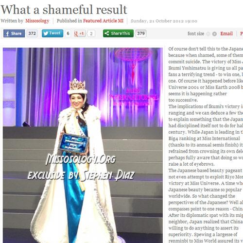 Tân Hoa hậu Quốc tế bị chê kém sắc - 1