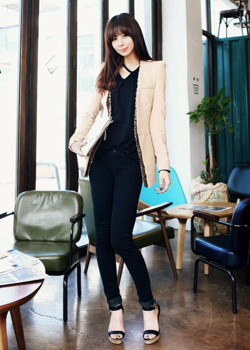 Phối blazer khéo như nữ công sở hiện đại - 14