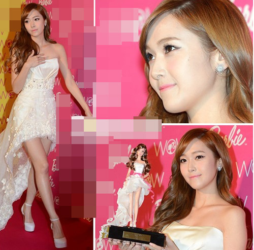 Váy cổ V khoe vẻ phồn thực của Gan Lulu - 11