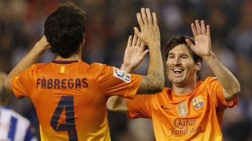 Liga sau vòng 8: Siêu nhân Messi - 1