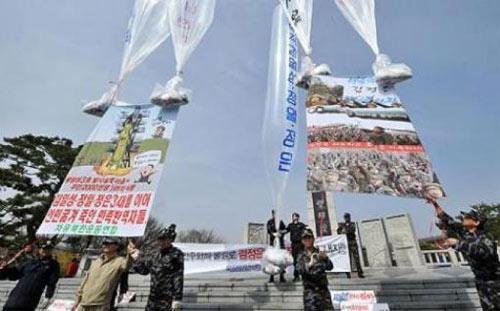 Hàn Quốc cấm thả truyền đơn sang Triều Tiên - 1