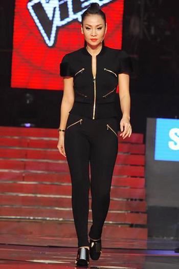 """Thu Minh mặc đồ hiệu """"khủng"""" ở The Voice - 16"""