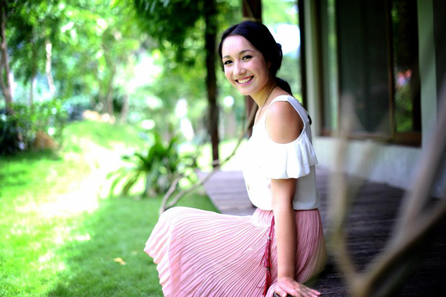 Anna Trương là con gái yêu của nhạc sỹ Anh & #160;Quân và ca sỹ Mỹ Linh.