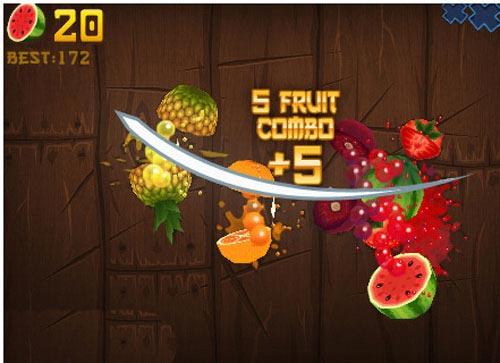 Game hay: Chém hoa quả - 1