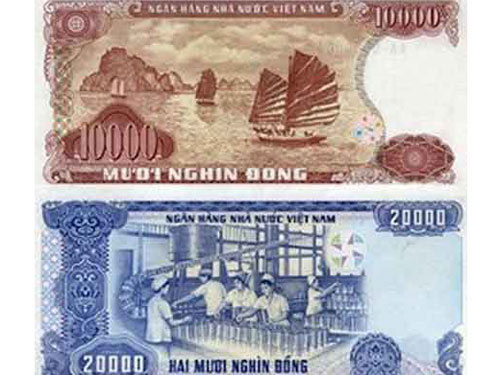 TPHCM: Đổi tiền cotton 10.000, 20.000 đồng - 1