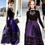 Thời trang - Chọn váy đẹp đến công sở mùa đông