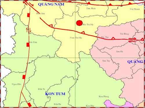 Lý giải động đất mạnh nhất ở Sông Tranh - 1