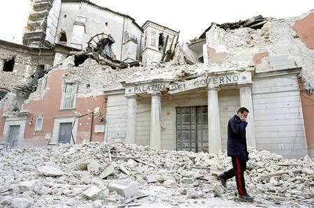 Italia: Đi tù vì cảnh báo động đất sai - 1