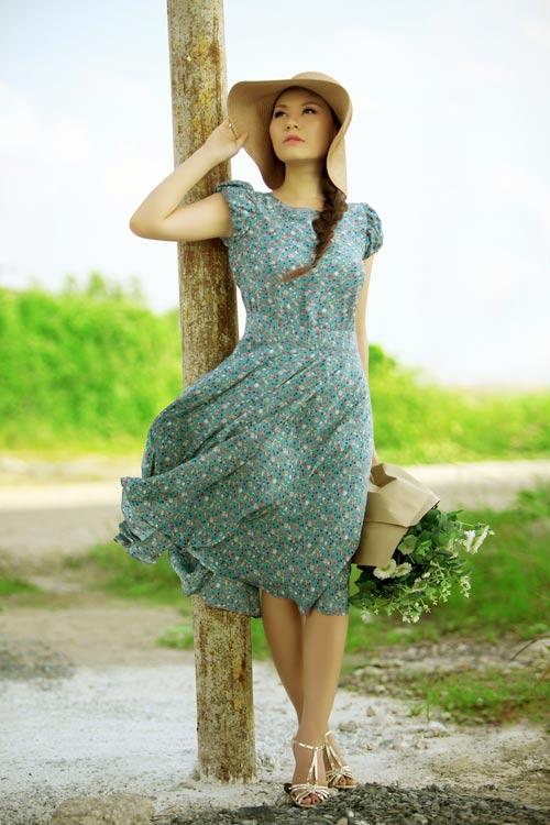 Mặc váy đẹp cho ngày dịu dàng - 5