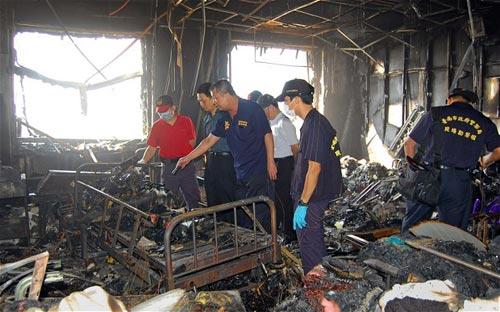 Đài Loan: Cháy bệnh viện, 12 người thiệt mạng - 1